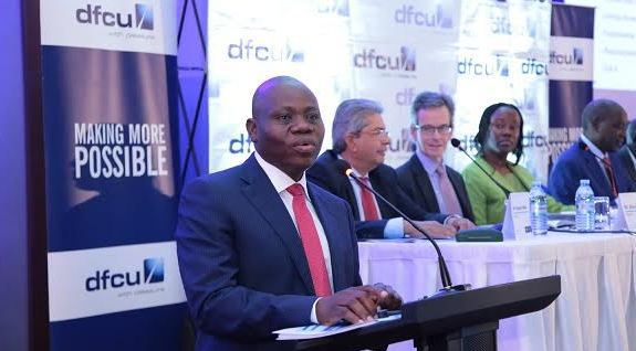 Lawyers want the Underfire DFCU Bank MD, Juma Kisaame's fat accounts scruitinised in a fresh row (FILE PHOTO)