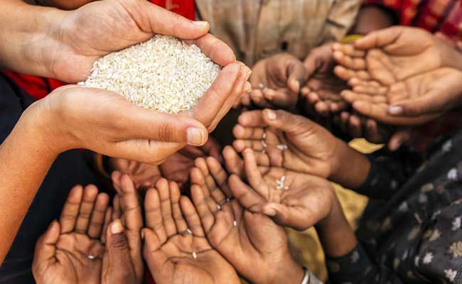 Hunger and food insecurity remain the world's biggest problem after war/instability (FILE PHOTO)