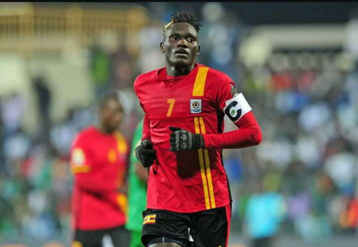 Joseph Ochaya becomes the third Uganda to sign for TP Mazembe (file photo)
