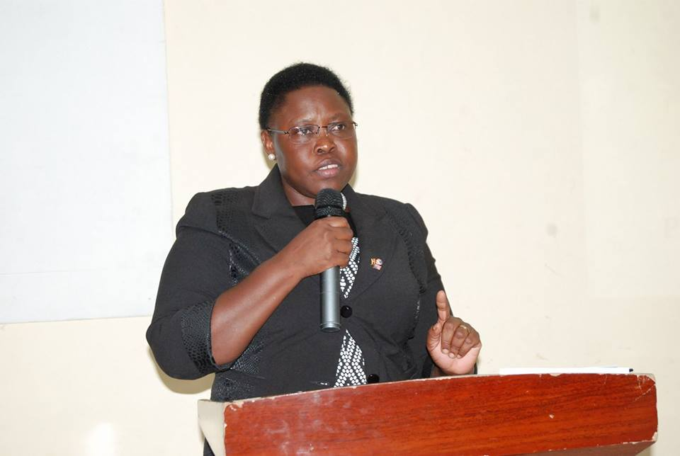 State Minister for Primary Health Care Hon. Dr. Moriku Joyce Kaducu