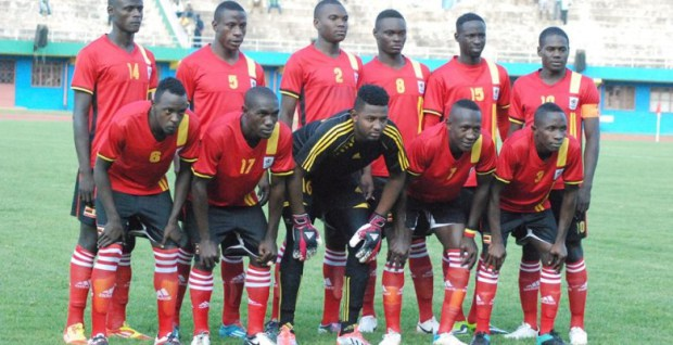 The Kobs team that lost 2-1 at home to Egypt in  2015 (file photo)