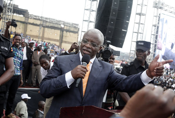 The former Prime Minister, Mr Amama Mbabazi