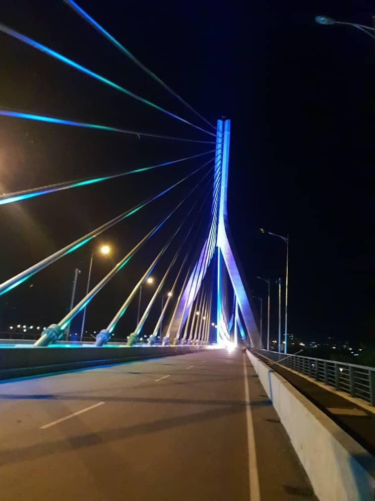 UNRA has rubbished allegations tha the magnificent Nile Cable Bridge has developed cracks(FILE PHOTO)