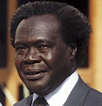 Apollo Milton Obote was a Ugandan political leader who led Uganda to independence in 1962 from British colonial administration. (PHOTO/Archives)