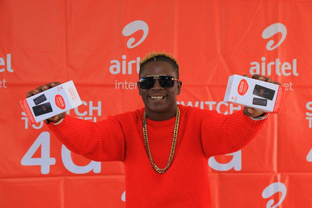 Ugandan vocalist displays