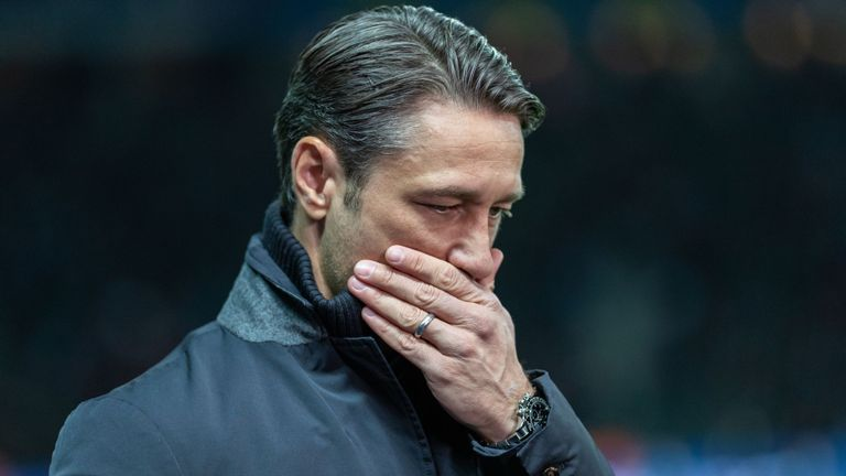 Kovac's Bayern are 6th in the league having lost both of their last two league games