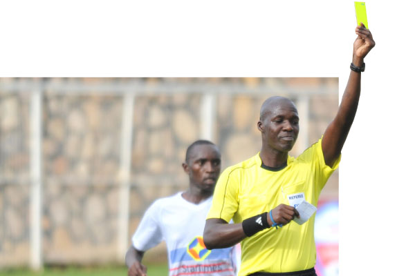 Muhabi will be the center referee in KCCA's home tie with Kirinya JSS (file photo)