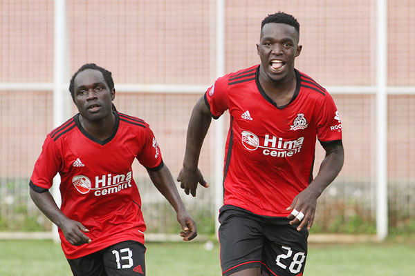 Geoffrey Wasswa (right) is one of the U20 players that have been included (file photo)
