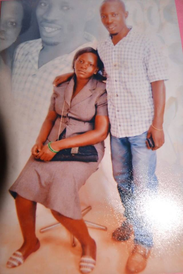 The deceased, Juliet Nakiyimba. and her husband