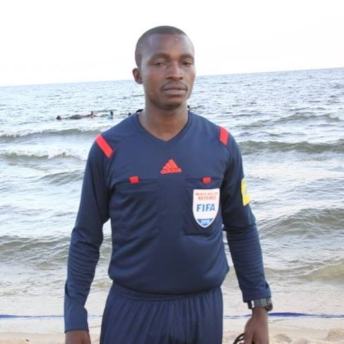 Ivan Kintu Bayige will officiate at the Beach Soccer AFCON in Egypt (Photo by FUFA Media)