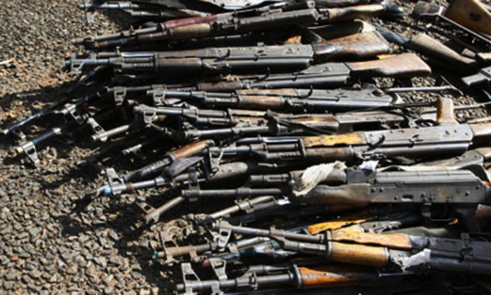 Uganda has been named among countries that I have allegedly supplying firearms to South Sudan (FILE PHOTO)