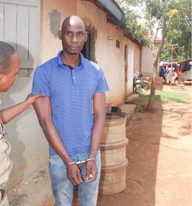 Isma Kanonya a suspected fraudster arrested. (POLICE PHOTO)