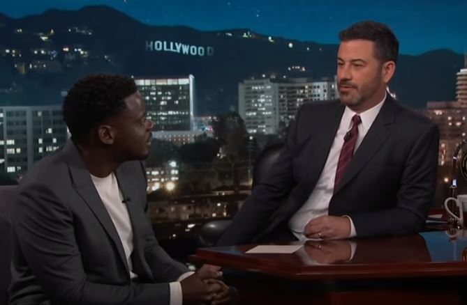 Ugandan-Bitish actor and Black Panther star,, Daniel Kaluuya hosted on the Jimmy Show at El Capitan Theater, Los Angeles, California (NET PHOTO)