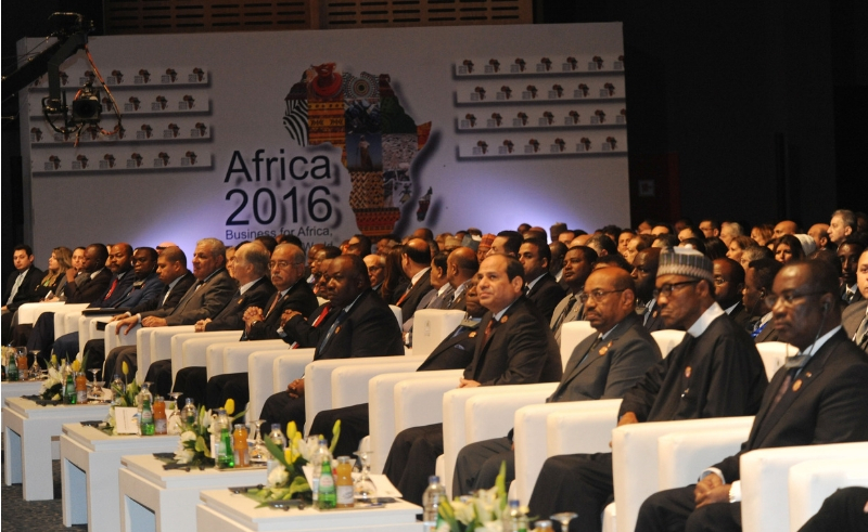 African business leaders in Egypt for 2016 Forum.