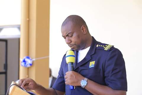 URA Commissioner Customs, Mr Kateshumbwa Dicksons, noted that over the last 5 years, trade volumes in terms of exports through Elegu border had grown from UGX 197.8Bn to UGX 225.2Bn (PML Daily PHOTO)