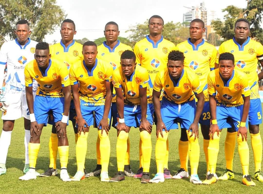 The defeated Nyamityobora 6-1 in their last game (File Photo)