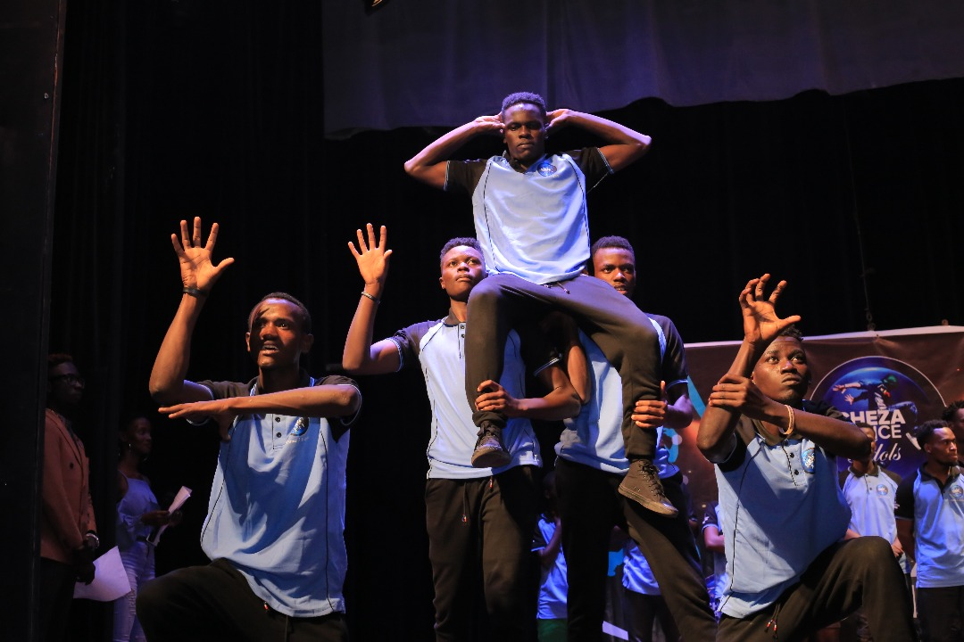 Cheza Dance Winners, 24/ 7 put up an electrifying performance at the grand finale (Photo By M'Abraham)