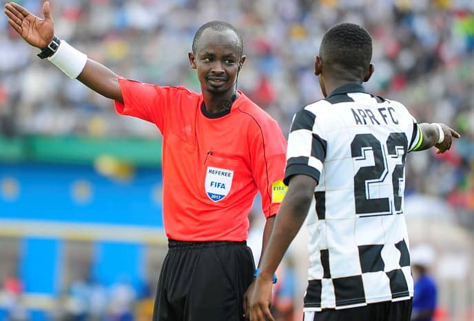 Twagiramukiza will be the center referee for the second leg in Kitende (Agency photo)