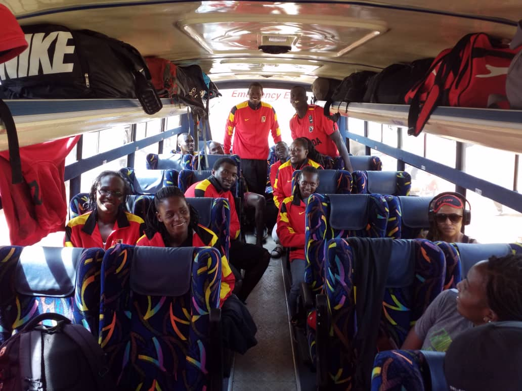 Team Uganda on their way to Nairobi (Photo by Agency)