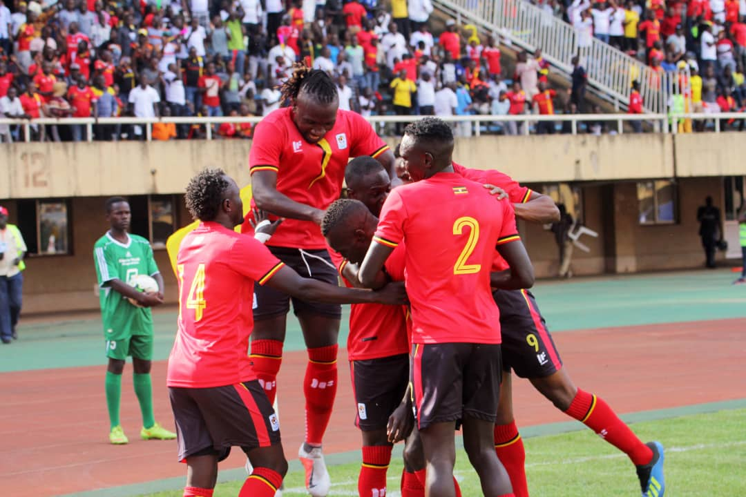 Uganda currently has 10 points in Group L