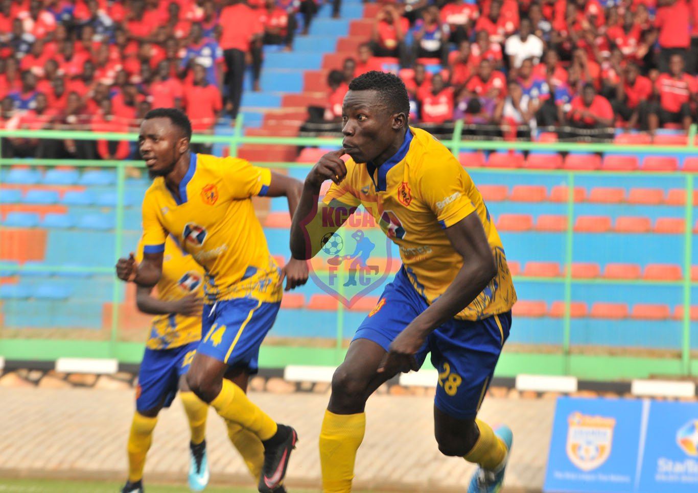 KCCA drew 1-1 in their last league game (photo by KCCA media)