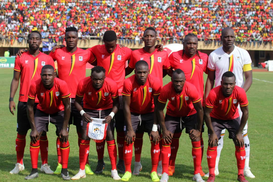 The Cranes team that started on Saturday (photo by FUFA Media)