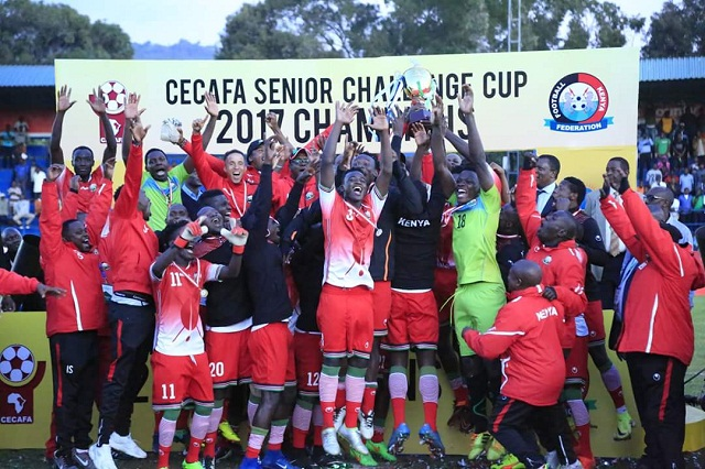 Kenya are the defending champions (file photo)