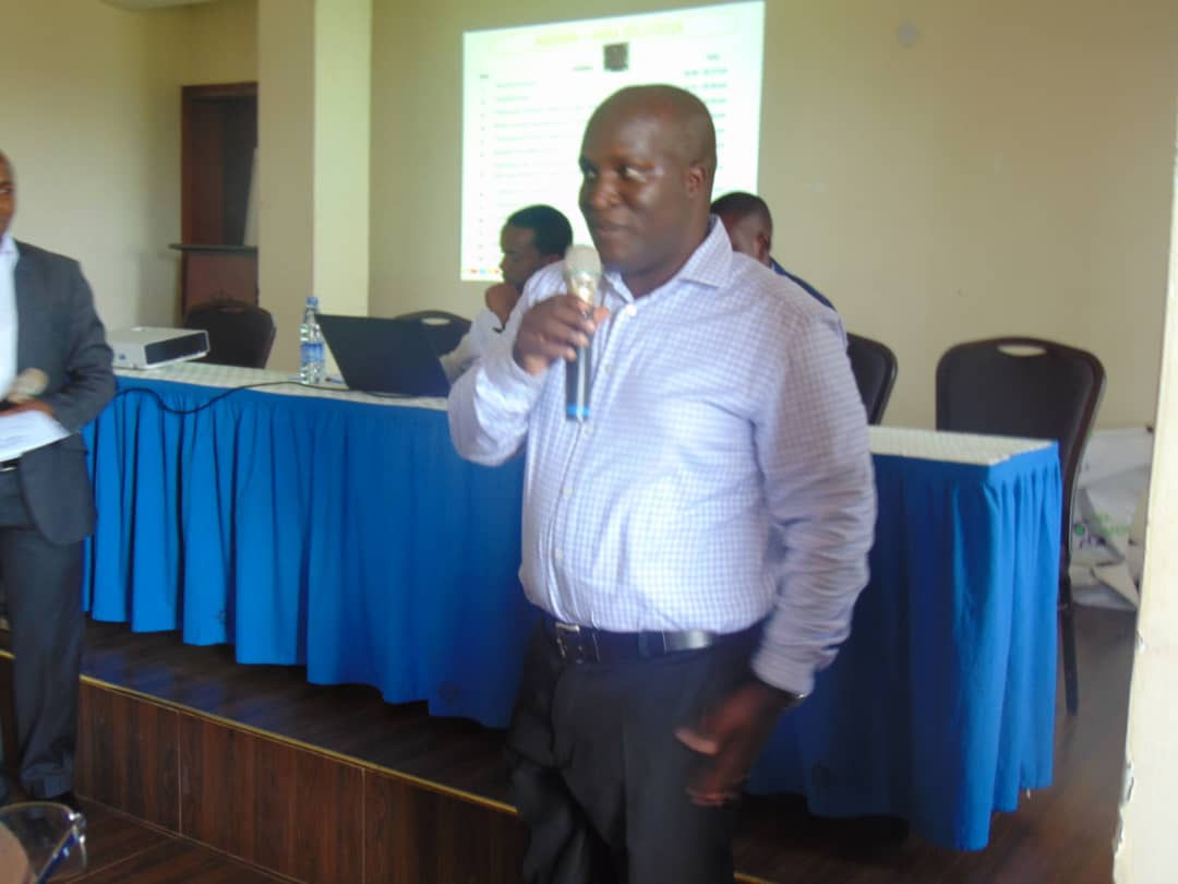 Livingstone Mukasa, the CEO of Mazima retirement scheme