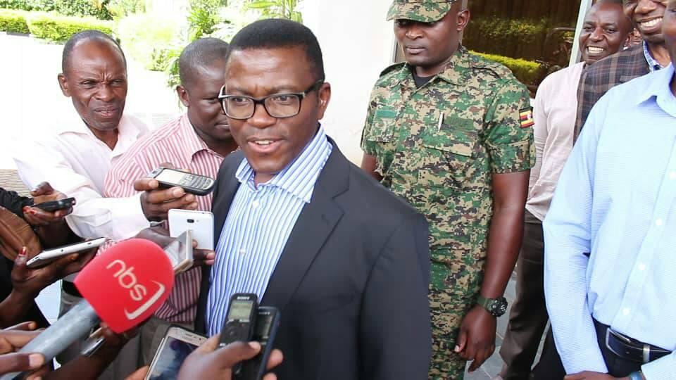 Buganda Kingdom Katikkiro Charles Peter Mayiga was incarserared last month on an attempted visit to Kooki kingdom (FILE PHOTO)