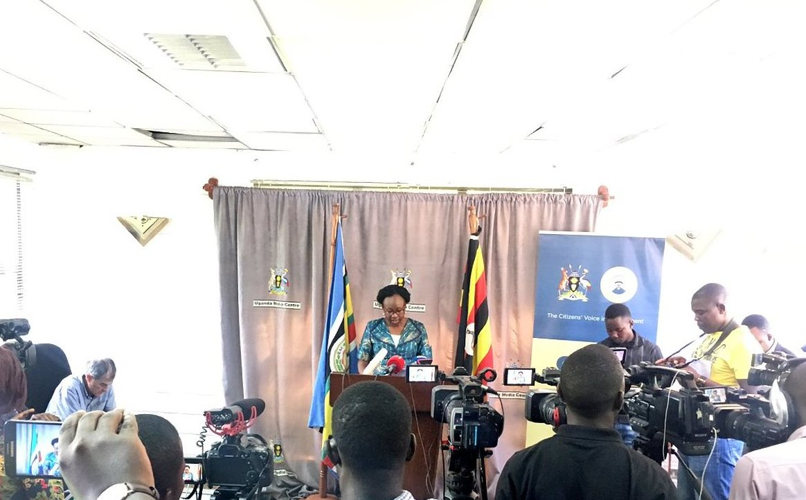 Health Minister Dr Jane Ruth Aceng has revealed the Ebola vaccine wil be administered in the high-risk districts effective Monday November 5 (FILE PHOTO)