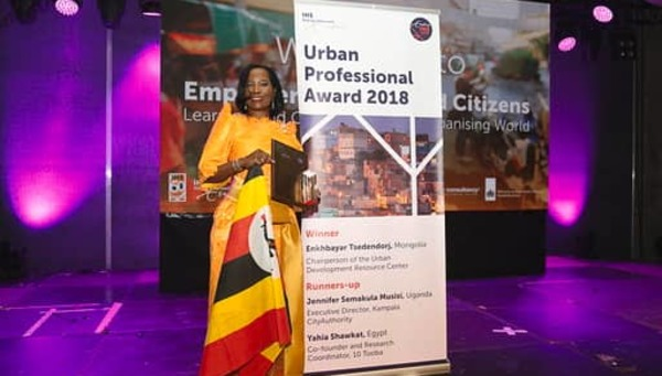 Kampala Capital City Authority (KCCA) Executive Director Jennifer Ssemakula Musisi