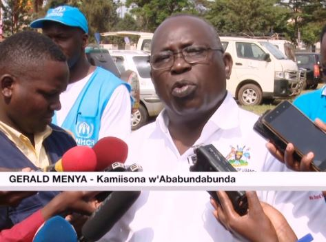 Commissioner for refugees, Mr. Gerald Menya, has revealed that NGOs are spending more funds on their staff than the refugees in question (NTV Uganda Photo)