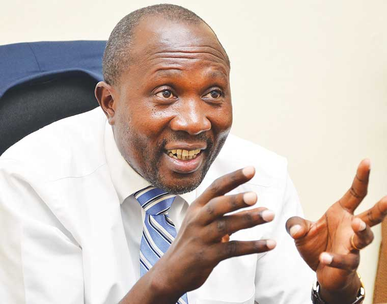 The Public Accounts Committee of Parliamen, led by Budadiri West MP Nathan Nandala Mafabi, has grilled Police heads over the missing. (PHOTO/File)