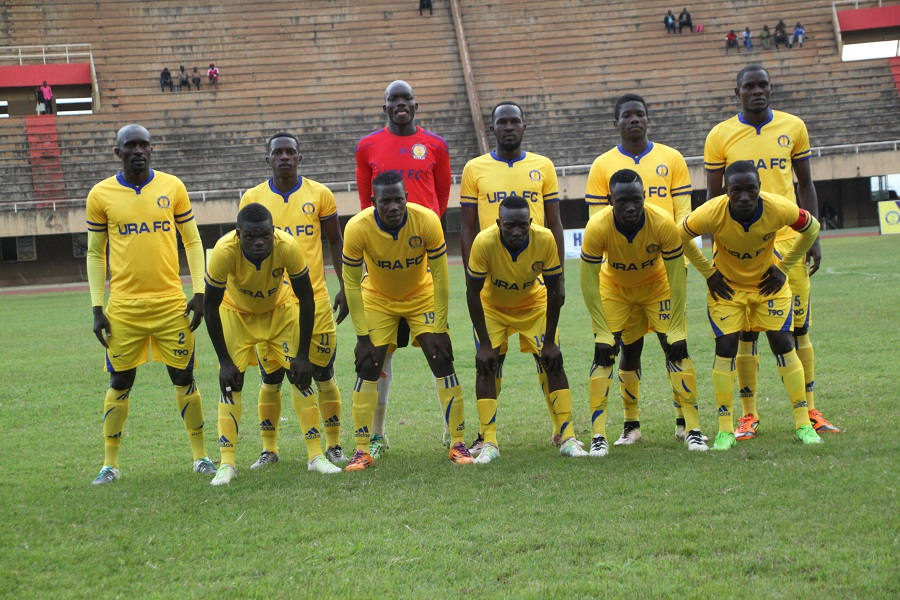 URA have not lost a League game this season (file photo)