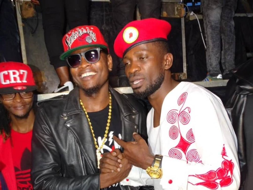 Pallaso was one of the act that graced the stage to perform at the Kyarenga Concert yesterday (PML Daily PHOTO)