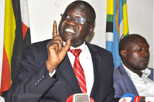FDC Party President Patrick Amuriat.(FILE PHOTO)
