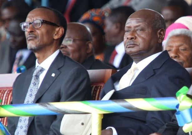 President Paul Kagame has once again taken a swings at President Museveni citing that Uganda can not sustain war with his nation. (PHOTO/File)