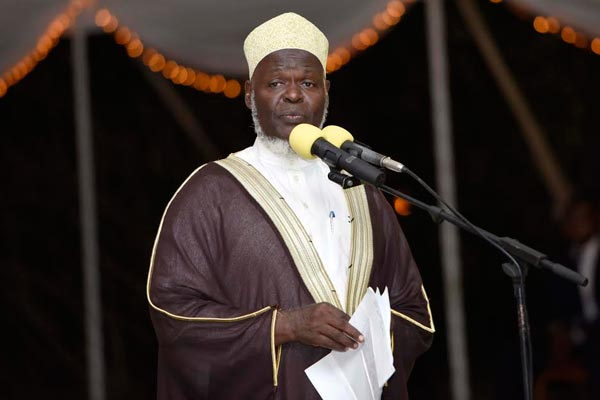 Uganda Mufti Sheik Shaban Ramadhan Mubajje has cautioned the government to desist from for undermining efforts to hold a national dialogue (FILE PHOTO)