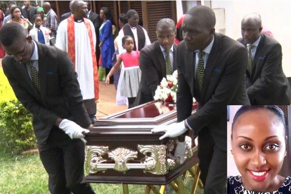 One of the Boat Cruise accident victims, the Late Sheila Mbonimpa was laid to rest this week (FILE PHOTO)