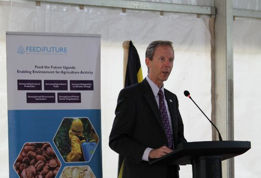 USAID Mission Director Joakim Parker welcomed the partnership citing that the US governments and Uganda have a long history of support (FILE PHOTO)
