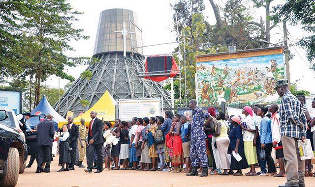Uganda Martyrs Church in Kaabong district
