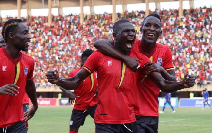 Kaddu scored the lone goal on Saturday (photo by fufa media)