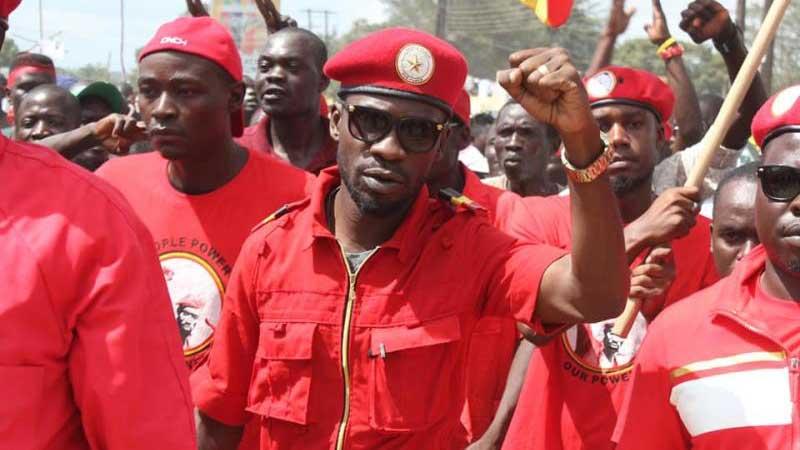 Kyandodo East Member of Parliament Robert Kyagulanyi alias Bobi Wine  has told Ugandans to be on their own. (PHOTO/FILE)