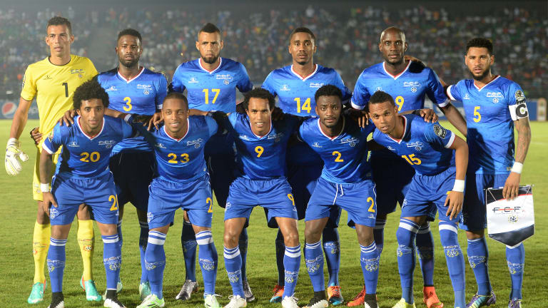Cape Verde are currently third in Group L