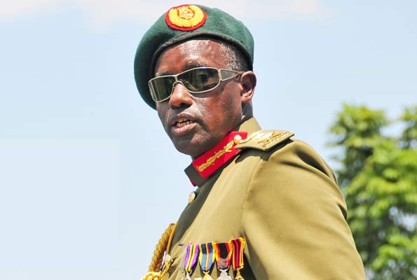 Minister for Security, Gen Elly Tumwine has threatened to deal with RDCs that do not submit Situational Reports (FILE PHOTO)