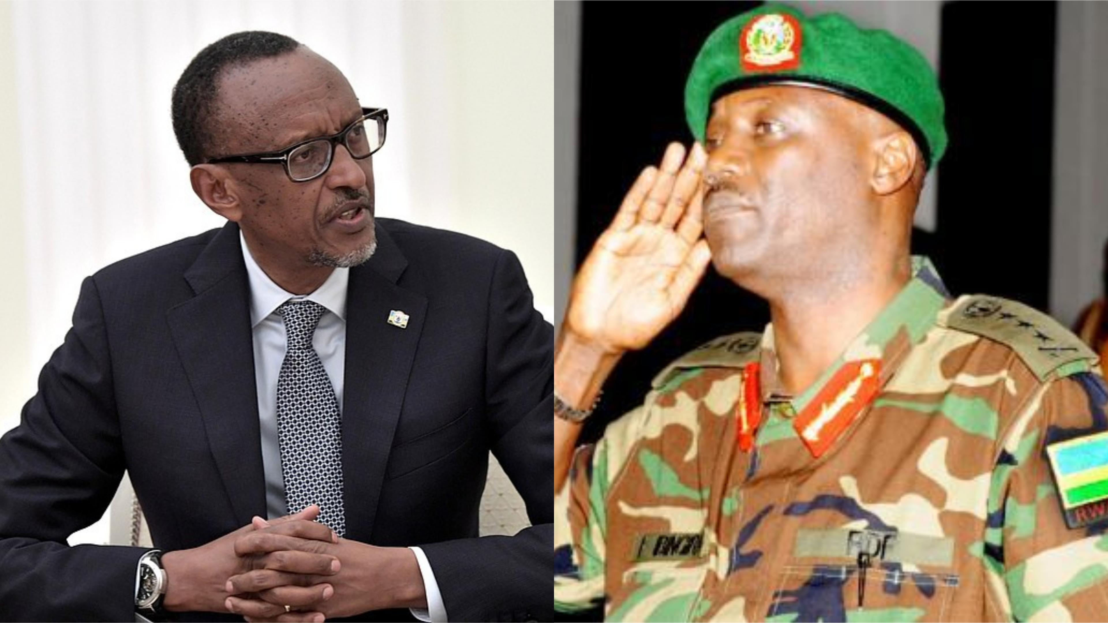 president Paul Kagame has in a new military shakeup fired General Fred Ibingira
