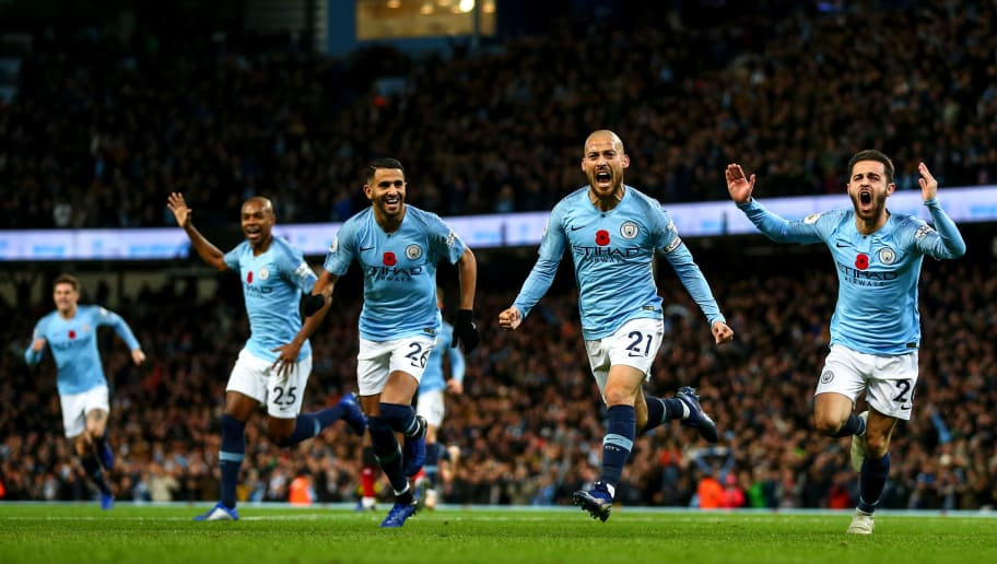 Man City defeated Man United 3-1 on Sunday (Photos by Agencies)