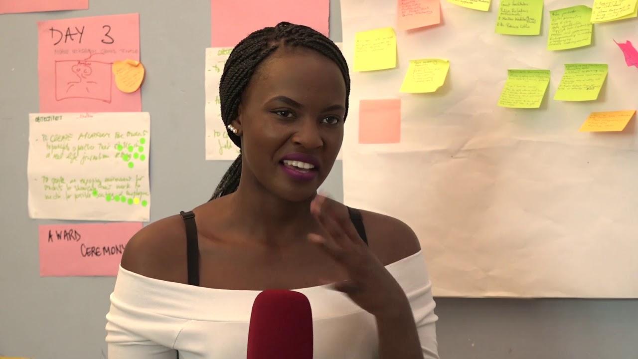 Sandra Kahumuza, a former Record TV reporter joined NTV Uganda. (FILE PHOTO)