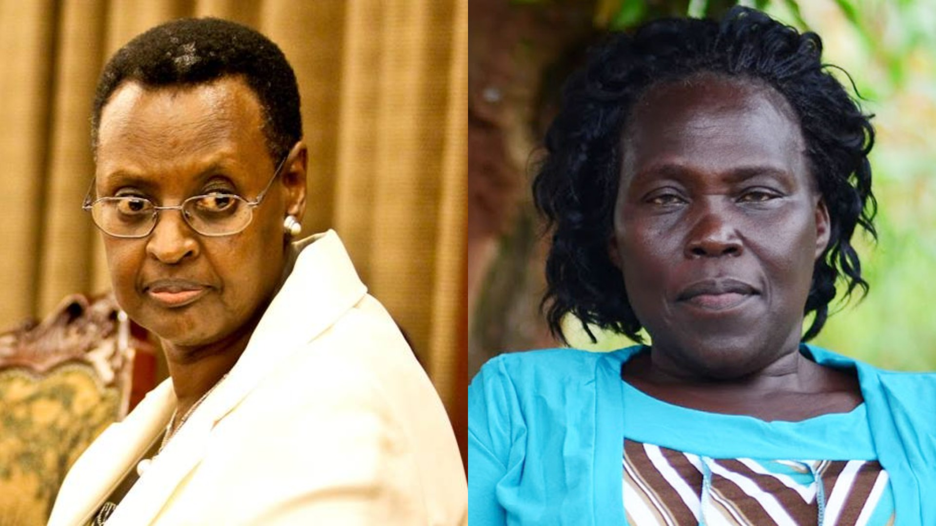 Leader of Opposition, Hon Betty Aol has called for the resignation for Education Minister, Mrs Janet Museveni citing incompetence (FILE MONTAGE)