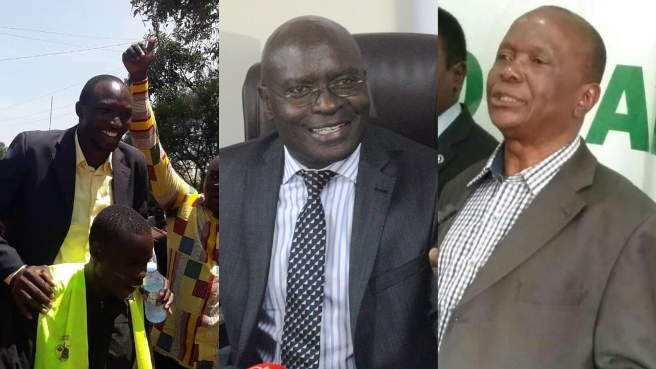Chairman Electoral Commission, Justice Byabakama Simon has nullified the nomination of DP's Deogratias Njoki and NRM's Boniface Oguttu over the deceitful information presented in their nomination for the Busia LCV By-election (FILE PHOTO)